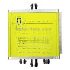 Austin Antenna - 204240 Austin Antenna Quadplexer Commercial 50/150/450/800 w/N Connectors