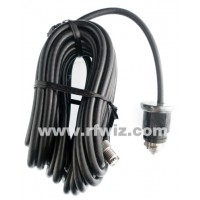 K40 K390 - 18 foot Black Coax Cable Assembly for the K40 Antenna Replacement Part CB Radio  - NOS