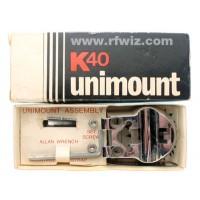 K40 U40 Unimount  -  Universal Mirror Edge Bar Roof Rack Mounting Kit for K40 Antenna CB Radio  - NOS