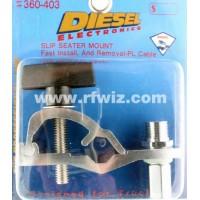 Barjan 360-403  -  Diesel Slip Seater Heavy Duty 3/8x24 Thread Quick Release Stud CB Mirror Mount - NOS