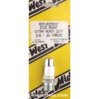 """Mid-West C-510HD  -  Stud Mount Extra Heavy Duty 3/8x24 Thread for 1/2"""" Bracket Hole Midwest - NOS"""