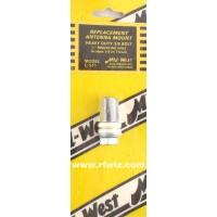 "Mid-West C-511  -  Stud Mount Lug Type 3/8x24 Thread for 1/2"" Bracket Hole Midwest - NOS"