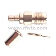 Wilson Antenna 880-900401 - W-1000 W-5000 SMA Female Crimp Coax End Connector 880900401 - NOS
