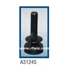 "Comtelco A31245B  -  2.3-2.6 GHz 4"" 5/8 Wave 5dBi / 3dBd Gain BLACK finish Mobile Antenna"