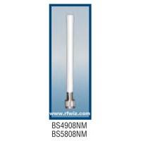"""Comtelco BS4908NM  -  SHF 4.940-4.990 GHz 7"""" 8dBi Gain BNM Series N-Male Base Antenna"""
