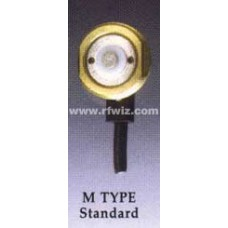 "Comtelco MZL-04 M Mount - M TYPE 3/4"" Hole Mount 17' Micro Loss 900 coax Mini UHF Connector"