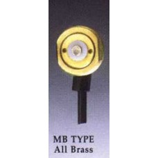"Comtelco MB TYPE -  All Brass 3/4"" Mount Only Permanent Body Mount No Cable or Connector"