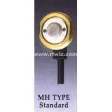 "Comtelco MH TYPE -  Standard 3/4"" Permanent Body Mount No Cable or Connector (Large Contact)"