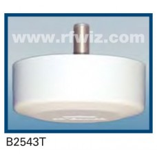 "Comtelco B2543T  -  450-470 MHz UHF Low Profile 4.25"" Dia. x 1.5"" High Ceiling Mount 12"" Pigtail Base Antenna"