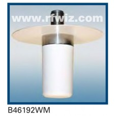 "Comtelco B46192WM  -  1.85 -1.99 GHz UHF Low Profile 1 1/2"" Dia. x 3 5/8"" Mini-UHF Ceiling Mount Antenna"