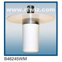 "Comtelco B46245WM  -  2.4-2.5 GHz UHF Low Profile 1 1/2"" Dia. x 3 5/8"" Mini-UHF Ceiling Mount Antenna"