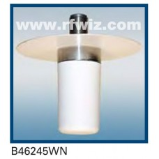 "Comtelco B46245WN  -  2.4-2.5 GHz UHF Low Profile 1 1/2"" Dia. x 3 5/8"" Unity Gain Ceiling Mount Antenna"