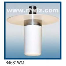 "Comtelco B4681WM-896  -  896 -960 MHz UHF Low Profile 1 1/2"" Dia. x 3 5/8"" Mini-UHF Ceiling Mount Antenna"