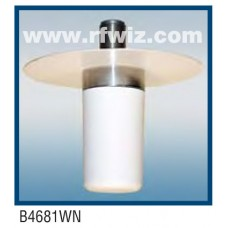 "Comtelco B4681WN-915  -  900 -930 MHz UHF Low Profile 1 1/2"" Dia. x 3 5/8"" Unity Gain Ceiling Mount Antenna"
