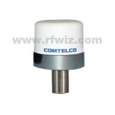 "Comtelco B46DB2458WN  -  1.5-2.7/4.5-6.0 GHz Low Profile 1 1/2"" Dia. x 2"" Dual Band Ceiling Mount Antenna"