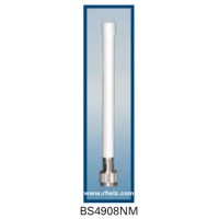 "Comtelco BS4908NM  - 4.940-4.990 GHz 7"" 8 dBi Gain WLAN N-Male Base Antenna"