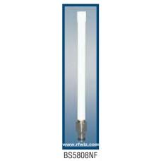 "Comtelco BS5808NF  - 5.725-5.925 GHz 7"" 8 dBi Gain WLAN N-Female Base Antenna"