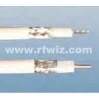 Comtelco SFX-100 - Micro Loss Teflon® SuperFlex .170 diameter White 100% shield 100 Feet Bulk Cable