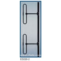 "Comtelco ED220-2  -  VHF 200-250 MHz 5 dBd Gain 28"" 2 Element Folded Dipole Base Antenna w/Mast"