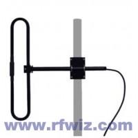 "Comtelco EDX220  -  VHF 200-250 MHz 2.5 dBd Gain 22"" 1 Element Folded Dipole Base Antenna"
