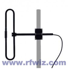 "Comtelco EDX220  -  VHF 200-250 MHz 2.5 dBd Gain 22"" 1 Element Folded Dipole Base Antenna"
