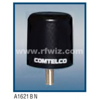 "Comtelco A1621BN-224  -  224 -226 MHz Low Profile 3"" Dia. x 3 1/4"" High Tamperproof BLACK Mobile Antenna"