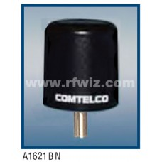"Comtelco A1621BN-220  -  220 -222 MHz Low Profile 3"" Dia. x 3 1/4"" High Tamperproof BLACK Mobile Antenna"