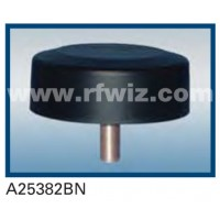 Comtelco A25382BN  -  806-940 MHz/1.85-1.99 GHz Dual Band Low Profile Tamperproof BLACK Mobile Antenna