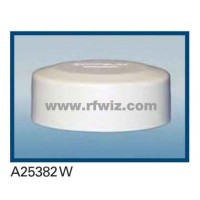Comtelco A25382W  -  806-940 /1850-1970 MHz Ultra Wide Dual Band Low Profile WHITE Mobile Antenna