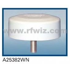 Comtelco A25382WN  -  806 -940 MHz/1.85-1.99 GHz Dual Band Low Pro Tamperproof WHITE Mobile Antenna