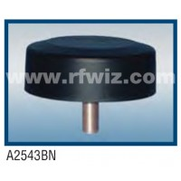"Comtelco A2543BN  -  440-512 MHz UHF Low Profile 4.25"" Dia. x 1.5"" High Tamperproof BLACK Mobile Antenna"