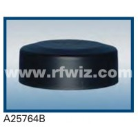 "Comtelco A25764B  -  764-869 MHz UHF Low Profile 4.25"" Dia. x 1.5"" High NMO BLACK Mobile Antenna"