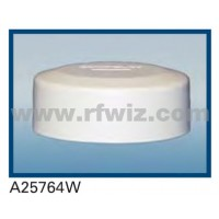 "Comtelco A25764W  -  764-869 MHz UHF Low Profile 4.25"" Dia. x 1.5"" High NMO WHITE Mobile Antenna"