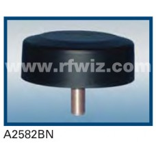 """Comtelco A2582BN  -  806-940 MHz UHF Low Profile 4.25"""" Dia. x 1.5"""" High Tamperproof BLACK Mobile Antenna"""
