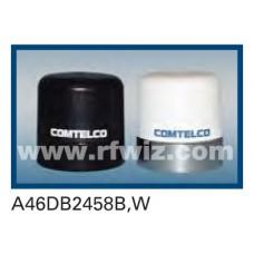 "Comtelco A46DB2458B  -  1.5-2.7/4.5-6.0 GHz Dual Band Low Profile 1.5"" Dia. x 2"" High NMO BLACK Mobile Antenna"