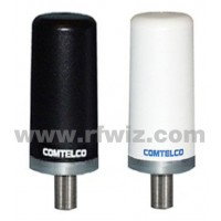 Comtelco A46DB818WN  -  806-960 MHz/1.85-1.99 GHz Dual Band Tamperproof WHITE Mobile Antenna