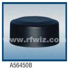 "Comtelco A56450B  -  420-512 MHz UHF Low Profile 3"" Dia. x 1.5"" High NMO BLACK Mobile Antenna"