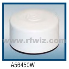 "Comtelco A56450W  -  420-512 MHz UHF Low Profile 3"" Dia. x 1.5"" High NMO WHITE Mobile Antenna"