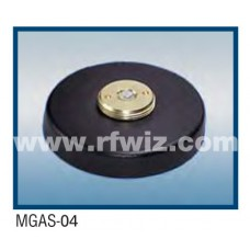 Comtelco MGAS-04 - Magnet Mount w/12' RG58A/U coax NMO Female Base and Mini-UHF Connector