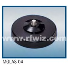 Comtelco MGLAS-04 - Magnet Mount w/12' RG58A/U coax 5/16 x 24 L Stud Base and Mini-UHF Connector
