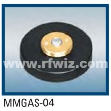 Comtelco MMGAS-04 - Mini-Magnet Mount w/12' RG58A /U coax NMO Female Base and Mini-UHF Connector