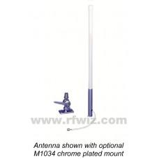 "Comtelco MS2400XL6   -  UHF 2.4-2.5 GHz 24"" 6dBd Gain XL Marine Antenna"