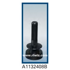 Comtelco A1132408B  -  806-940/1850-2250 MHz Dual Band Low Profile Ultra Wide BLACK Mobile Antenna