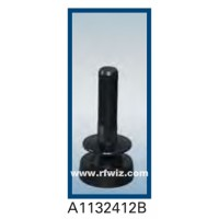 Comtelco A1132412B  -  1100-1500/2400-2800 MHz Dual Band Low Profile Ultra Wide BLACK Mobile Antenna