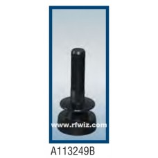 Comtelco A113249B  -  880-1200/2300-2600 MHz Dual Band Low Profile Ultra Wide BLACK Mobile Antenna