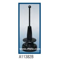 Comtelco A11382B  -  806-940 /1710-1970 MHz Dual Band Multi-Use Low Profile Ultra Wide BLACK Mobile Antenna