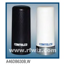 Comtelco A46DB630W  -  698-980/1800-2200 MHz Dual Band Multi-Use Low Profile WHITE Mobile Antenna