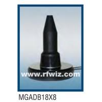 """Comtelco MGADB18X8  -  806-960/1850-1990 MHz 5"""" Dual Band Mag Mount 2dBd BLACK Mobile Antenna"""