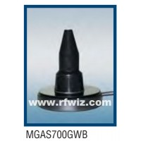 "Comtelco MGAS700GWB  -  698 MHz-5.8 GHz 4"" Global Wide Band Magnet Mount BLACK Mobile Antenna"