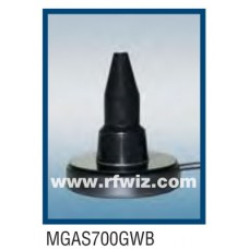 """Comtelco MGAS700GWB  -  698 MHz-5.8 GHz 4"""" Global Wide Band Magnet Mount BLACK Mobile Antenna"""
